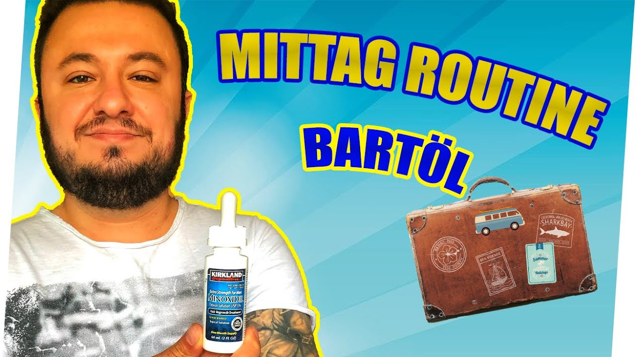 Minoxidil Bart Anwendung