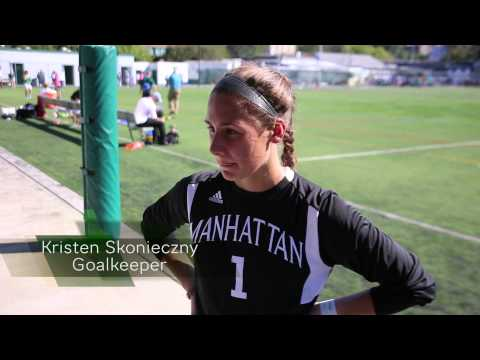 Manhattan Women's Soccer Picks Up First MAAC Win: Post Game Interviews