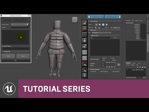 ART: Publishing your Character | 07 | Tutorial Series | Unreal Engine