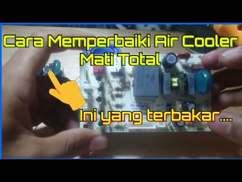 Cara Memperbaiki Air Cooler Mati Total Youtube