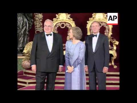 SPAIN: MADRID: KING & QUEEN HOST DINNER FOR NATO LEADERS UPDATE