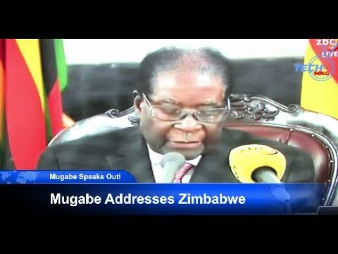 Mugabe addresses Zimbabwe Live