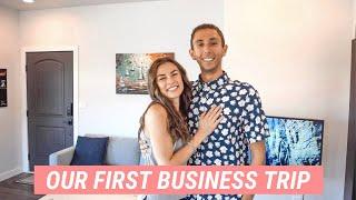 Day in the Life of an Entrepreneur Couple | First Business Trip + Oregon Getaway!