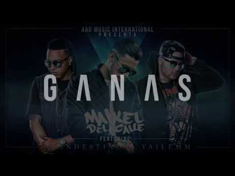Maikel Delacalle ft. Clandestino & Yailemm - Ganas (Remix) (Official Lyrics Video)