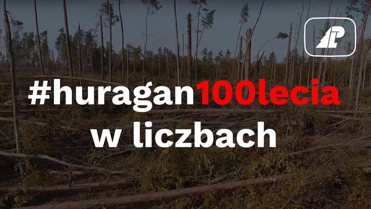 #huragan100lecia w liczbach