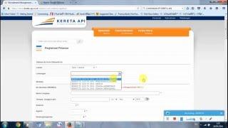 Cara Melamar Kerja PT KERETA API INDONESIA (PERSERO) Lewat Website