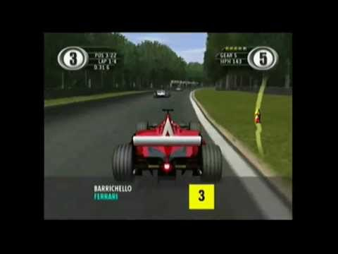 Every race car in EA Spot F1 2001 (Xbox) game (Gameplay)