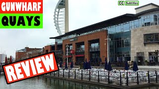 Gunwharf Quays Review by a Man who hates Shopping