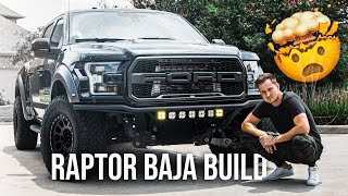 TURNING MY F150 RAPTOR INTO A TROPHY TRUCK