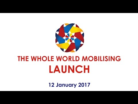 The Whole World Mobilising – Launch Event