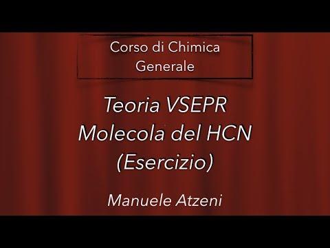 """""""Esercizio - VSEPR HCN"""" - Chimica Generale -"""