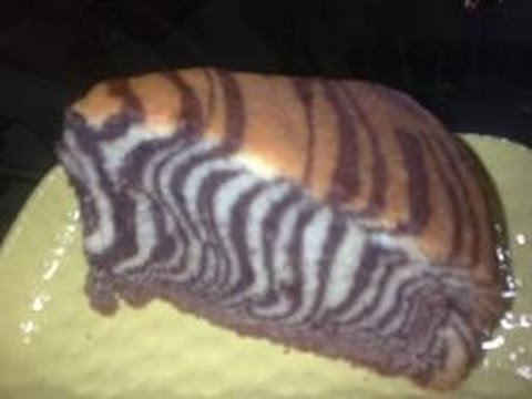Recette Gateau Zebra Moule  Ef Bf Bd Cake Youtube