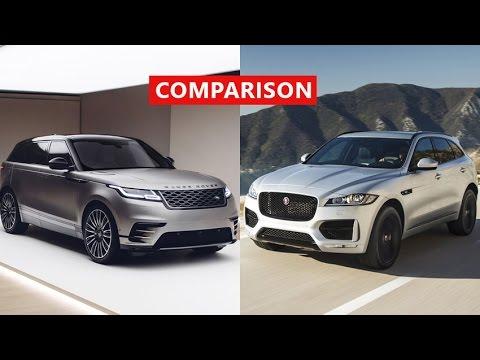 2018 Range Rover VELAR vs 2017 Jaguar...