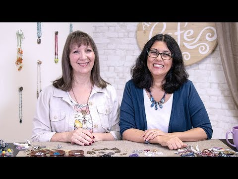 Artbeads Cafe - How To Use Spacer Beads With Cynthia Kimura And Cheri Carlson