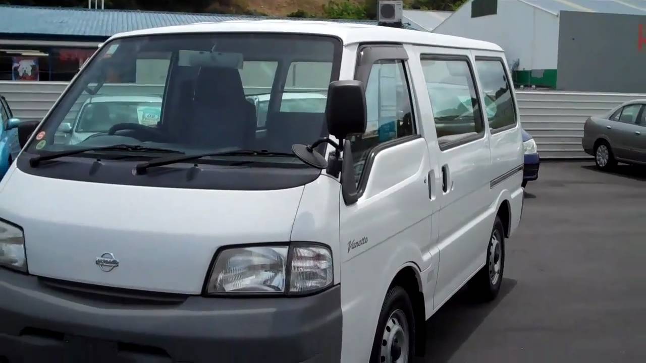 Nissan Vanette 5 Speed Travelled 63 000 Km For Sale