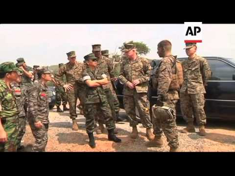 US, Thai and South Korean military forces hold joint exercises