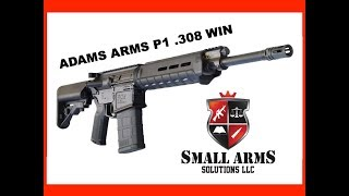 The Adams Arms P1 .308 Win Rifle