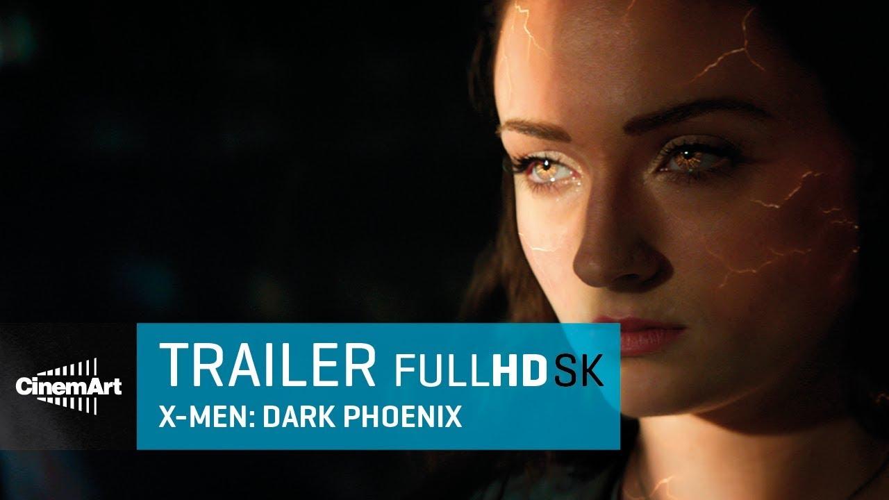 X -MEN DARK PHOENIX (2019) oficiálny HD trialer  [SK TIT]