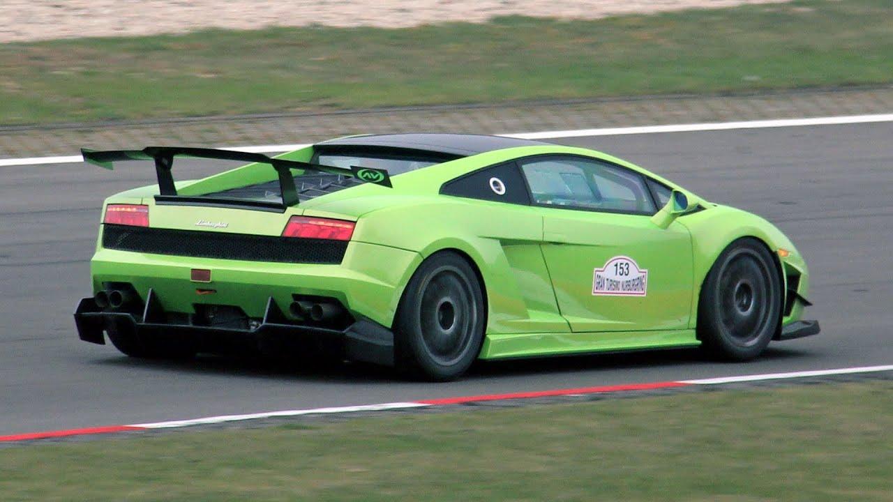 Lamborghini Gallardo LP560 4 Super Trofeo   SOUND!