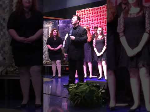 Troy Burchett at Big Sandy Community and Technical College Singing Some Gave All