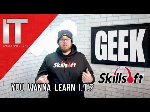 Learn I.T. With Skillsoft - Reviewing Skillsoft Course Soon