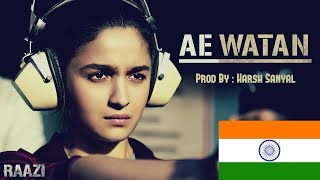 Video Ae Watan - Instrumental Cover Mix (Raazi/Arijit Singh)  | Harsh Sanyal | download MP3, 3GP, MP4, WEBM, AVI, FLV Juni 2018