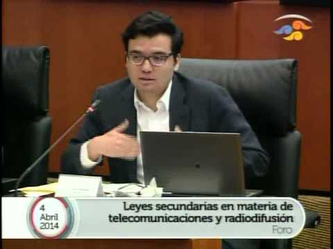 Foro Análisis de Leyes Secundarias en Telecom. 4 Abril - Parte III
