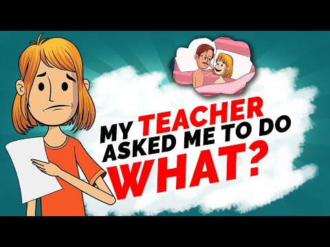 My Teacher Asked Me To Do... Real Story Animated By True Tales