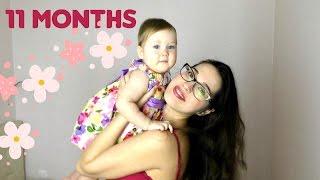 Нам 11 месяцев! Режим/Питание/Зубы/Прогулки