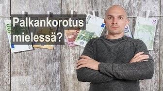 PALKANKOROTUS | Miksi palkankorotuksen saa helpoiten vaihtamalla työpaikkaa? ANTTI SOININEN