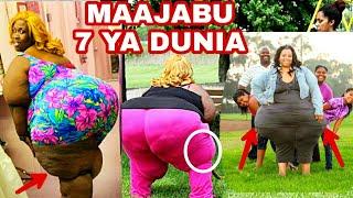 SARAH MASSEY: Mwanamke mwenye Matako (hips&makalio)makubwa zaidi na ya kuvutia duniani kuli