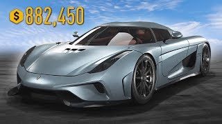 BUYING THE FASTEST CAR!! KOENIGSEGG REGERA UPGRADING & CUSTOMIZING!! (Need for Speed: Payback)