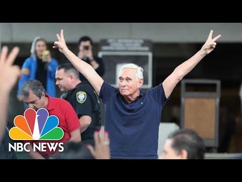 'lock-him-up!'-roger-stone-flashes-richard-nixon-v-sign-leaving-court-|-nbc-news