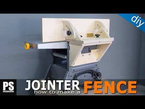 Homemade Tilting Fence for my cheap Jointer-Planer combo