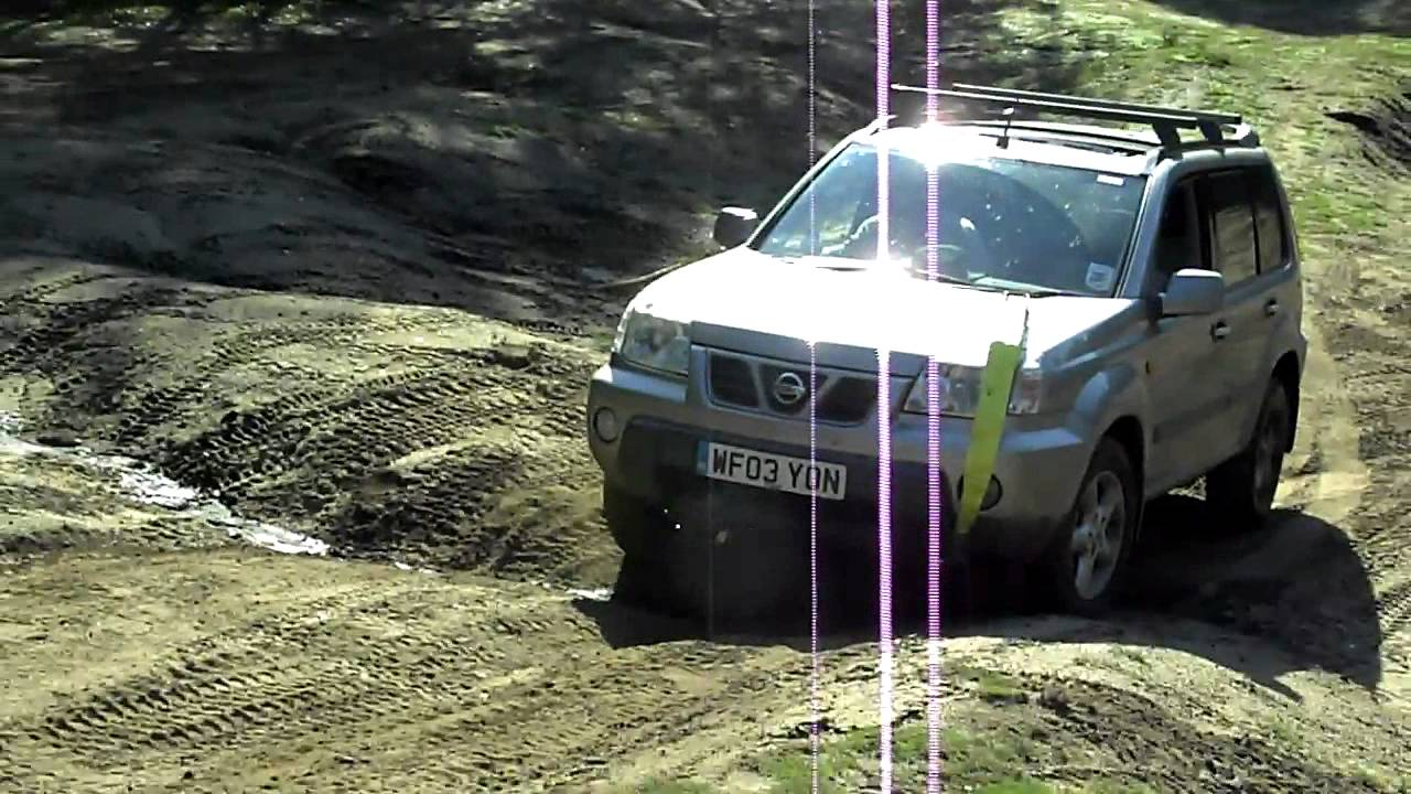 nissan x trail off road at broxhead common youtube. Black Bedroom Furniture Sets. Home Design Ideas