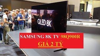 Review Samsung Qled TV 8K 98Q900R 98 inch GIÁ 2 Tỷ - Smart Tivi đắt nhất Việt Nam