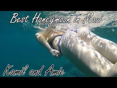 Amazing Honeymoon in Maui - Hawaii. Kamil and Amie Dusejovsky