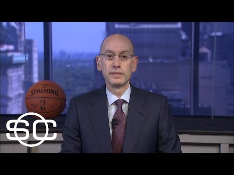 Cavaliers, Warriors Dominance Not A Concern For Adam Silver | SportsCenter | ESPN