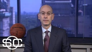Cavaliers, Warriors Dominance Not A Concern For Adam Silver   SportsCenter   ESPN