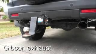 Toyota FJ Cruiser exhaust system (DRIFT Xaust)!