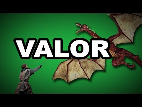 💪 Learn English Words - VALOR - Meaning, Vocabulary with Pictures and Examples