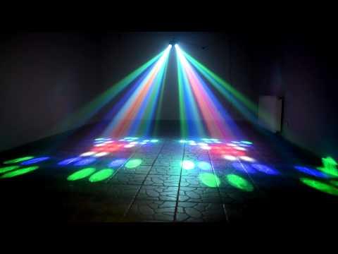 MUSICEXPRESS: LIGHT4ME SMALL DOUBLE AIRSHIP mocny efekt LED
