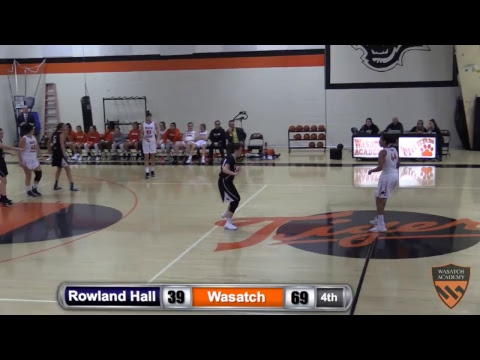 Girls Basketball vs Rowland Hall