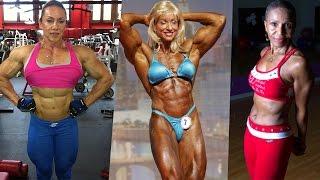 Nude female bodybuilders Mature