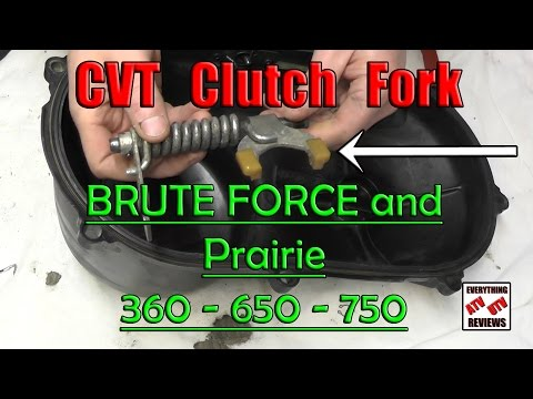Kawasaki Brute Force, Prairie, KFX, V-Force - EPI Clutch Kit