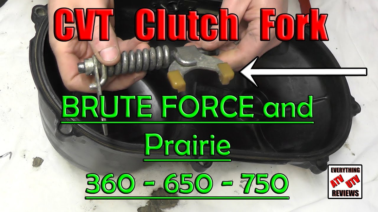 Noise From Belt Area Kebc Actuator Fork Cleaning Greasing 360 Kawasaki 250 4 Wheeler 2007 Wiring Diagram 650 700 750 Brute Force Prairie
