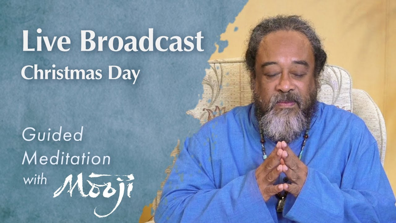 Guided Meditation with Mooji