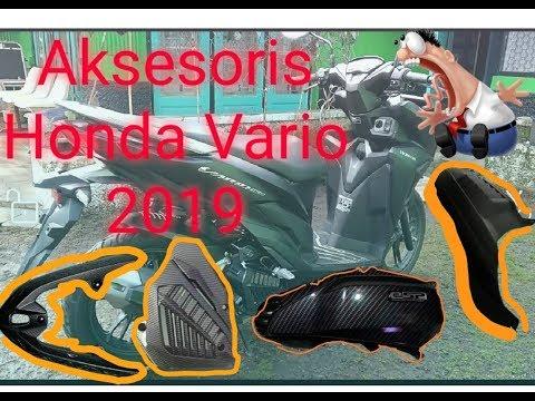 Modifikasi Honda Vario 2019 Aksesoris Ringan Simpel Tapi Terlihat Lebih Tampan