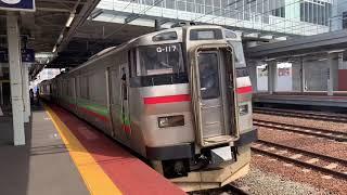 JR北海道731系-733系苗穂駅。