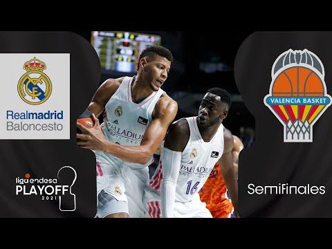 Real Madrid - Valencia Basket (80-77) RESUMEN   Playoff Liga Endesa 2021